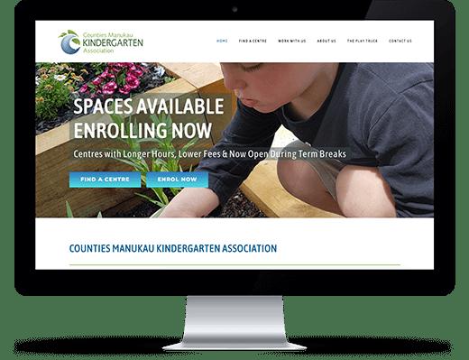 Counties Manukau Kindergarten Association - desktop