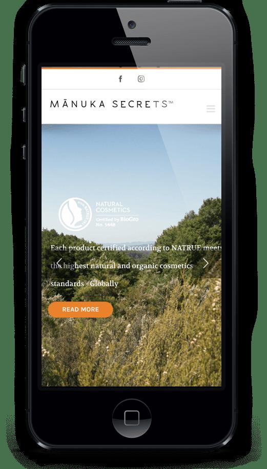 Manuka Secrets - mobile