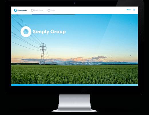 Simply Group - desktop